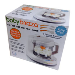 Baby Brezza Packaging