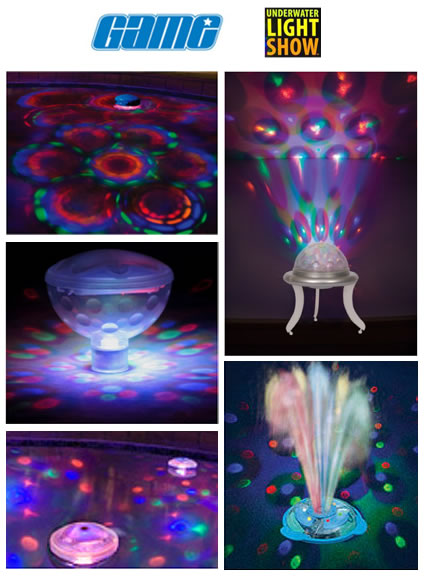 Under Water Light Show Product Grouping